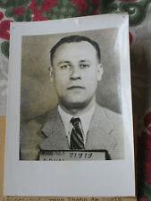 Photo presse 1963 photo identité Commissaire police H Brun assassiné par dément