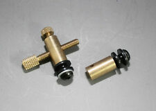 Tattoo Machine Brass Front & Rear Binding Posts + Contact & Lock Screw Metric M4