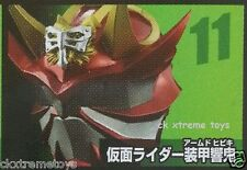 Masked Kamen Rider Kurenai Hibiki Mask Collection Vol.3 Head Helmet 1/6 Scale 11