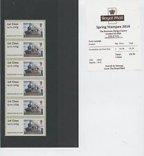 Stampex Travelling Post office (train) 1st class strip Post & go