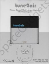ViseeO Tune2air WMA1000 Bluetooth Music Interface Adapter for streaming to CAR