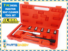 7PC Diesel Injector Seat Cutter Cleaner Tool Set Carbon Remover CT1524