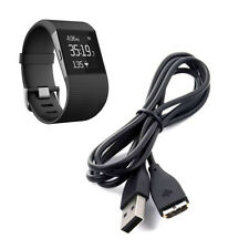 Hot Black USB Charging Cable Charger For Fitbit Surge Fitness Watch Wristband