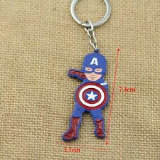 PORTACHIAVI CAPTAIN AMERICA KEYCHAIN CAPITAN THE AVENGERS SCUDO SHIELD COMICS #1