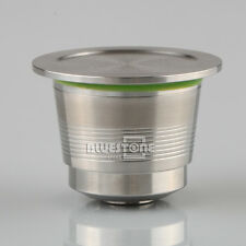 NEW Stainless Steel Compatible For Nespresso Machine Refillable Reusable Capsule