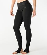 WOMEN'S NIKE Burnout Training Compression Leggings Black Sz XS 643045-010
