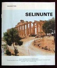 Monografia di Vincenzo Tusa : Selinunte  - scavi storia archeologia templi 1981