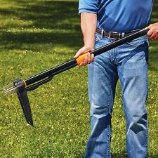 Stand Up Root Weeder Weed Remover Puller Dandelion Thistle Long Garden Yard Tool