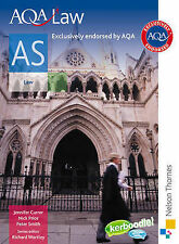 AQA Law AS: Student's Book, Smith, Peter, Price, Nicholas, Currer, Jennifer, Wor