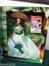 Mattel Barbie Gone with the Wind Hollywood Legends Barbecue Floral Dress NRFB