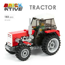 Lego Custom  ** TRACTOR ** INSTRUCTIONS ONLY! instruction