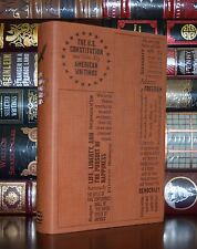 The U.S. Constitution American Writings Founding Fathers Soft Leather Feel Ed