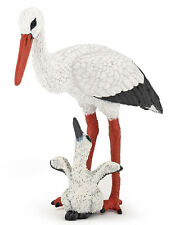Papo 50159 Stork and Baby Bird Model Toy Replica Figurine New for 2014 - NIP