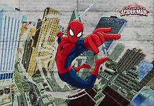 MARVEL SPIDERMAN CONCRETE Photo Wallpaper Wall Mural FOR KIDS! 368X254cm