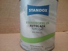 RAL9005 Standocryl 2K Jet Black   1 litre   Standox  Gloss Deep Black TiefScwarz