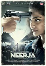 Neerja DVD - 2015 Hindi Movie / Region Free / English Subtitles / Sonam Kapoor