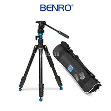 Benro Travel Video Tripod Kit Aero 2 A1883FS2C Converts To Monopod 64.8""