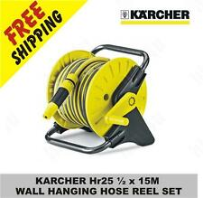 KARCHER Hr25 ½ x 15M WALL HANGING HOSE REEL SET