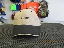 "VOLVO-KHAKI/TAN CAP W/ BLACK BILL-""VOLVO"" IN GOLD & ""XC90"" IN BLACK THREAD-ADJ"