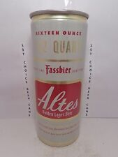 ALTES GOLDEN LAGER 16oz ALUMINUM PULL TAB BEER CAN #138-11 FRANKENMUTH, MICH.