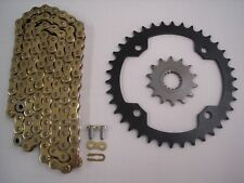 YAMAHA RAPTOR 700 SPROCKET & GOLD CHAIN SET 13/40 2006 2007 2008 2009 - 2013