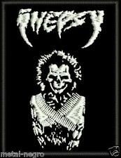 INEPSY EMBROIDERED PATCH MOTORHEAD SOD D.R.I AC DC M.O.D C.O.C GBH Metal Negro