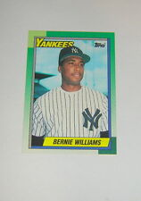 Bernie Williams, New York Yankees, 1990 Topps Rookie Card #701 (NrMt/MINT)