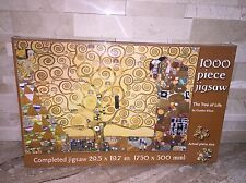 THE TREE OF LIFE BY GUSTAV KLIMT 1000 PC JIGSAW PUZZLE