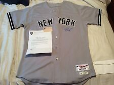 DEREK JETER GAME USED WORN 8/28/2011 PASSED MANTLE MOST GAMES PLAYED IN UNIFORM