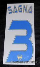 Arsenale SAGNA 3 2013/14 31 CHAMPIONS LEAGUE maglietta da calcio nome / numero di distanza