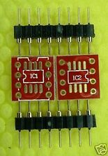 DIP8 Single to SMD Dual OpAmp Adaptor BrownDog