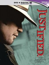 Justified Complete Series Collection 1-6 DVD BoxSet Season 1 2 3 4 5 6 7  UK New