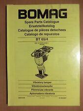 Ersatzteilliste BOMAG Vibrationsstampfer BT 65/4 Honda Motor Vibratory tamper