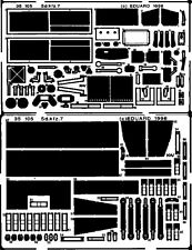 Eduard 1/35 PE PHOTO-ETCHED DETAIL SET PER TAMIYA Sd.Kfz.7
