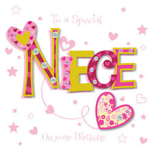 Special Niece Happy Birthday Greeting Card By Talking Pictures Cards