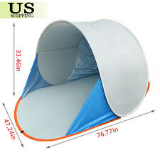 UV Shade Beach Fishing Tent Pop Up Quick Open Portable Camping Canopy Shelter