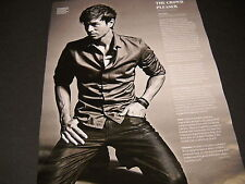 Enrique Iglesias The Crowd Pleaser 2014 Promo Display Ad image and text