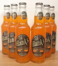 Hank's Gourmet Orange Cream Sixpack Glass Bottled Soda