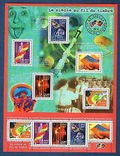 France Bloc N°39 Le Siécle au Fil du Timbre IV 2001 Neuf Luxe
