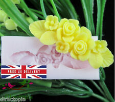 Flower Fondant Chocolate Acrylic Resin Silicone Mould Sugarcraft Mold UK
