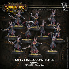 Warmachine : Cryx  - Satyxis Blood Witches - PIP 34072 - BNIB - FREE SHIPPING