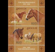2006 Estonia-Tori Stud aniversario m/s SG 526 Conjunto De Menta desmontado