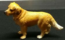 schleich golden retriever plastic dog figure toy