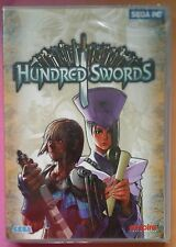 HUNDRED SWORDS PC CD-ROM STRATEGY GAME brand new & sealed UK SEGA ORIGINAL