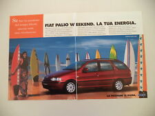 advertising Pubblicità 1997 FIAT PALIO WEEKEND
