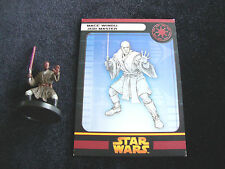 MACE WINDU JEDI MASTER STAR WARS MINIATURES MINI