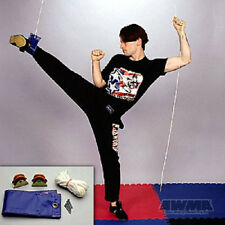 Cable Pulley Leg Stretcher Gymnastics Martial Arts Karate Stretching Training