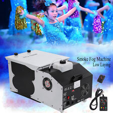 1500W Smoke Fog Machine Low Laying Dry Ice Effect DMX Club Stage Wedding Party
