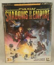 STAR WARS SHADOWS OF THE EMPIRE PC BIG BOX GAME NEW SEALED 1997 - FRENCH VERSION