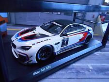 BMW M6 GT3 Racing Motorsport #1 2016 24h Kyosho Iscale Dealer NEW 1:18